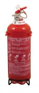Πυροσβεστήρας Ξηράς Σκόνης 2Kg με Μονόραφο Δοχείο και Κλείστρο με Βαλβίδα Ασφαλείας Μανομέτρου - ΣΥΜΠΕΡΙΛΑΜΒΑΝΕΤΑΙ ΜΕΤΑΛΛΙΚΗ ΒΑΣΗ