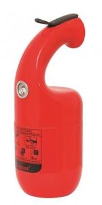 Φορητός Πυροσβεστήρας 1Kg ABC 40%, μικρός, εύχρηστος, ιδανικός για το σπίτι, αυτοκίνητο, σκάφος ή το τροχόσπιτο, ικανός να τοποθετηθεί σαν διακοσμητικό εσωτερικού χώρου σε εμφανή θέση, εξασφαλίζοντας εύκολη προσβασιμότητα